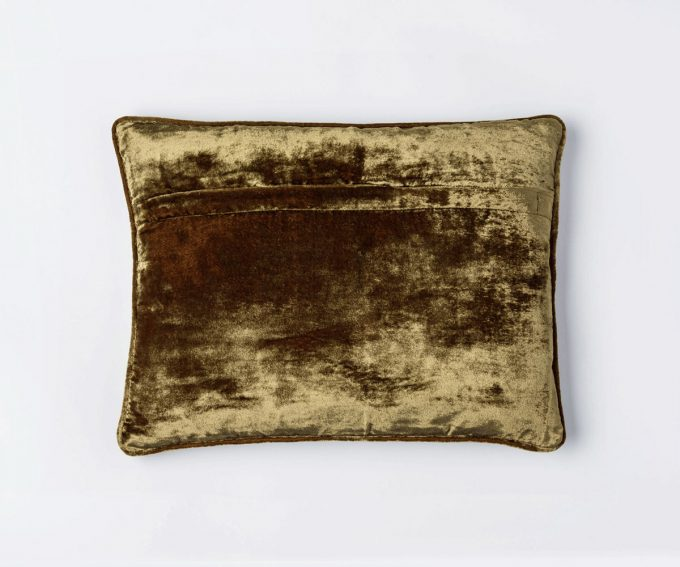Enny Brown cushion - reverse
