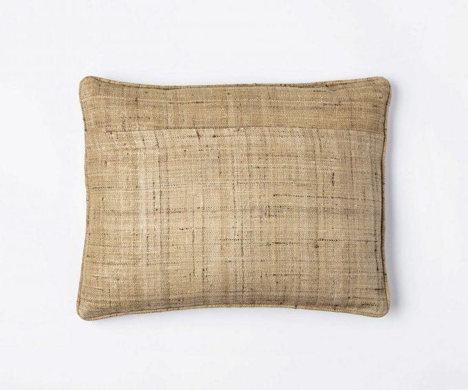 Enny Natural cushion - reverse