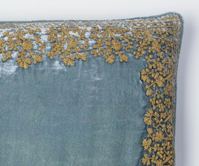 Hello cushion -  Citronella