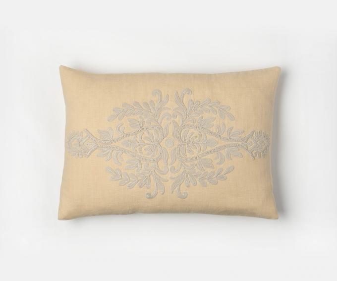 Suzana cushion, double motif – Maize